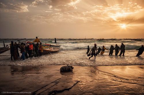 ocean work 1 boat fishermen atlantic final mauritania noukachott