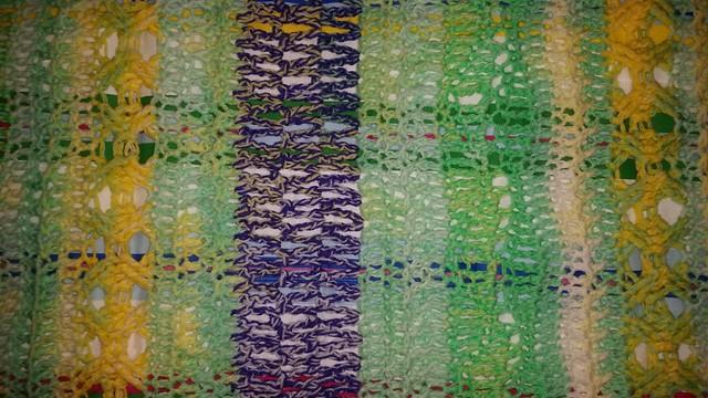 Variety Stitch Crib blanket