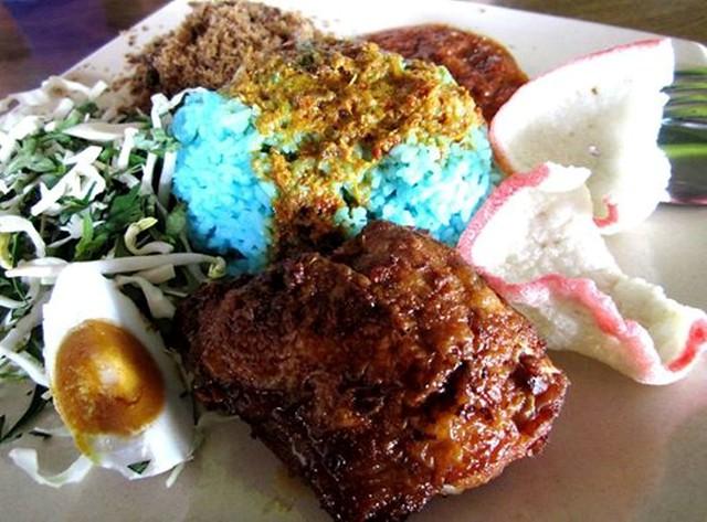 Sri Tanjung nasi kerabu
