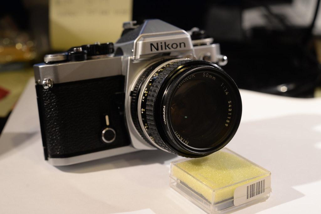 Nikon FE front 8-5-14