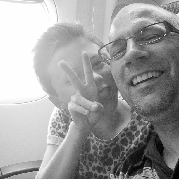 35,000 foot selfie