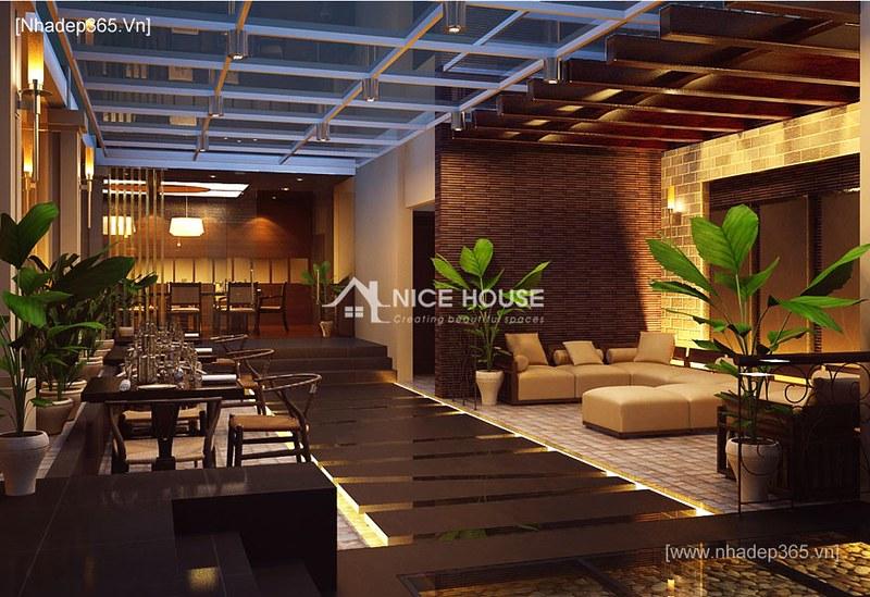 Nội thất nhà hàng Cây Xoài - HN_4
