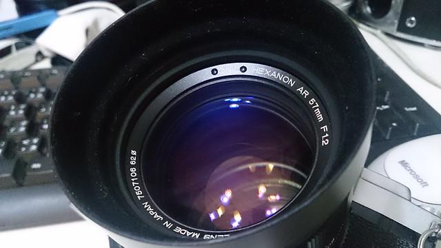 Konica 57mm f1.2 小西六的大光圈世界