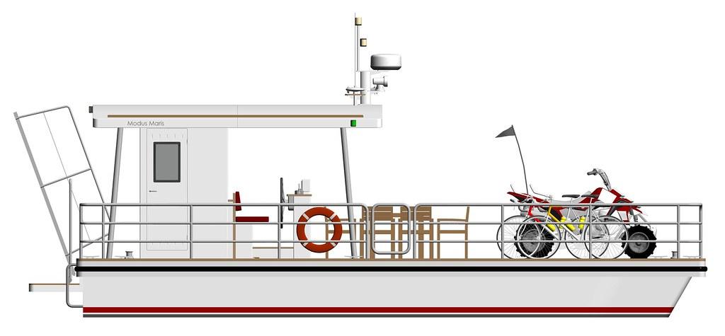 platforma 9m korotkaya krysha moped pravyi bort