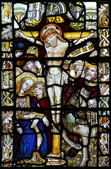 XIII: Crucifixion: Mary swoons in John's arms.