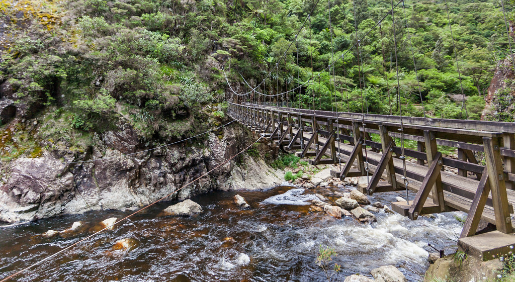 Swing Bridge, Karangahake Gorge Historic Walkway
