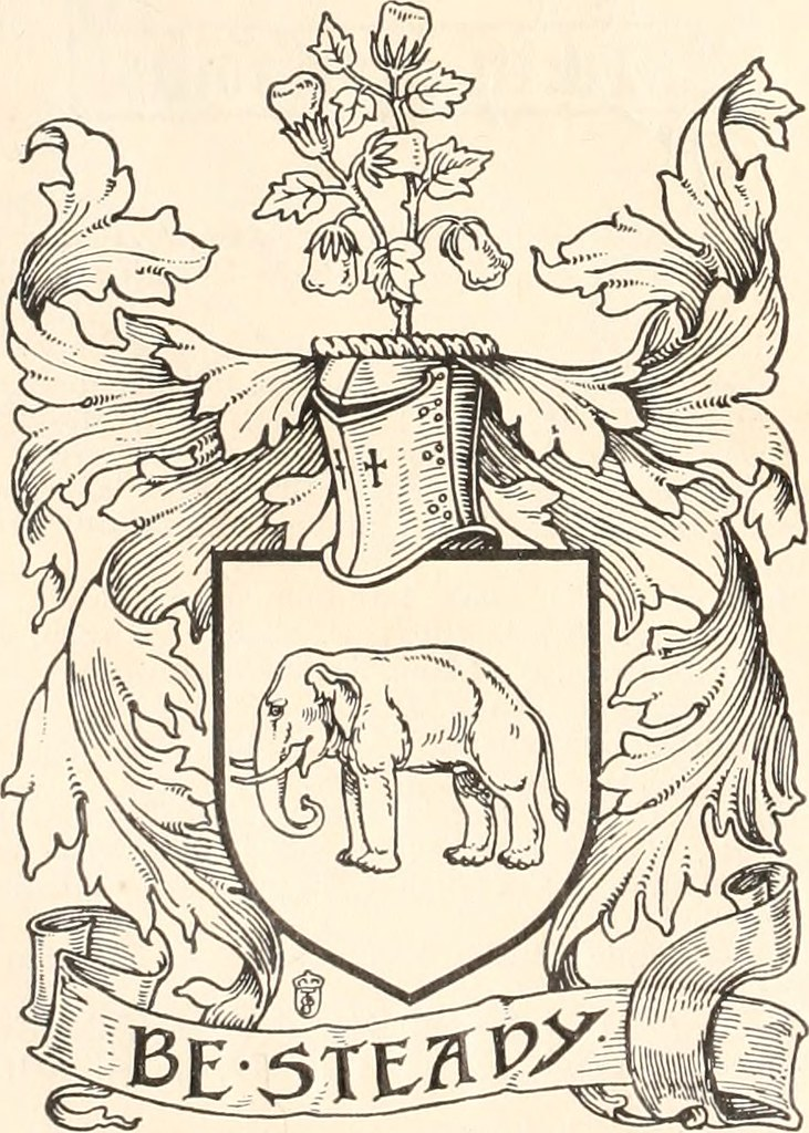 Butcher family arms