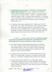 097. Külügyminisztériumi feljegyzés dr. Habsburg Ottó magyarországi látogatásáról