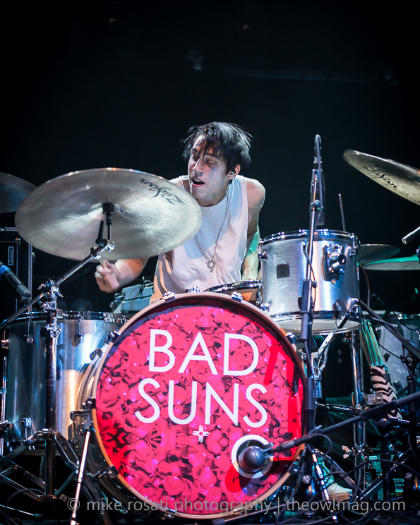 Bad Suns @ Fox Theatre, Oakland 7/25/14