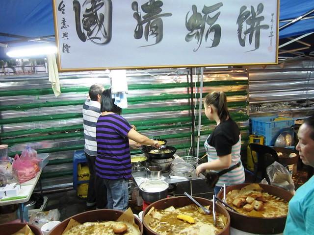 Sibu pasar malam, fried stuff stall 1