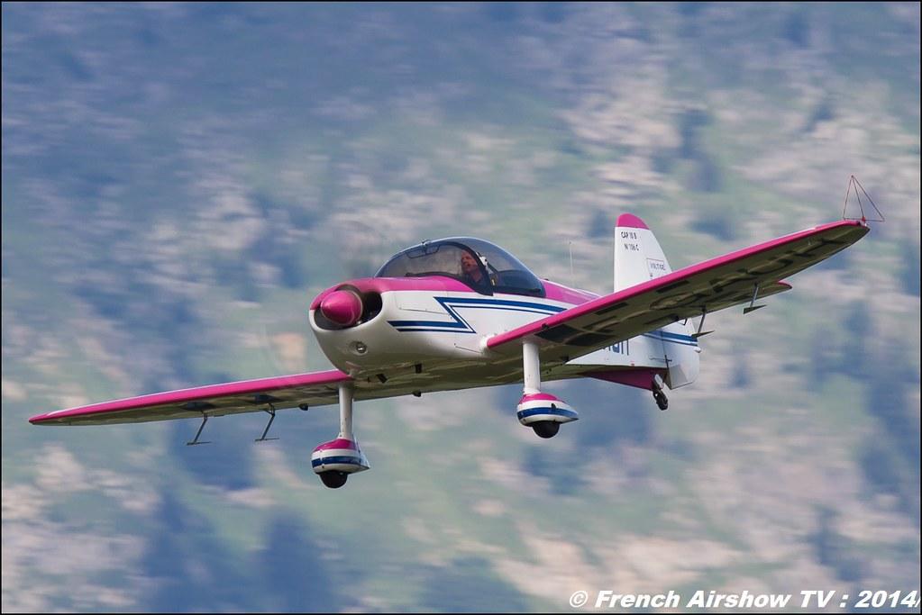 CAP-10 Georges Muzergues ,F-GAUH meribel airshow 2014 ,