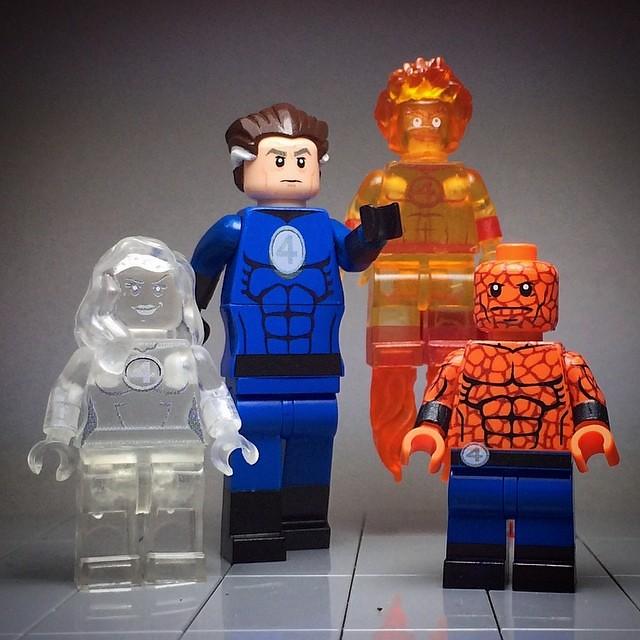 The Fantastic Four Custom Minifigs