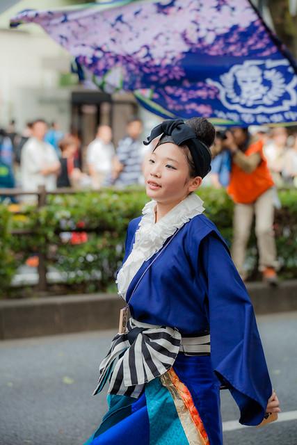 明治神宮奉納 原宿表参道元氣祭スーパーよさこい2014
