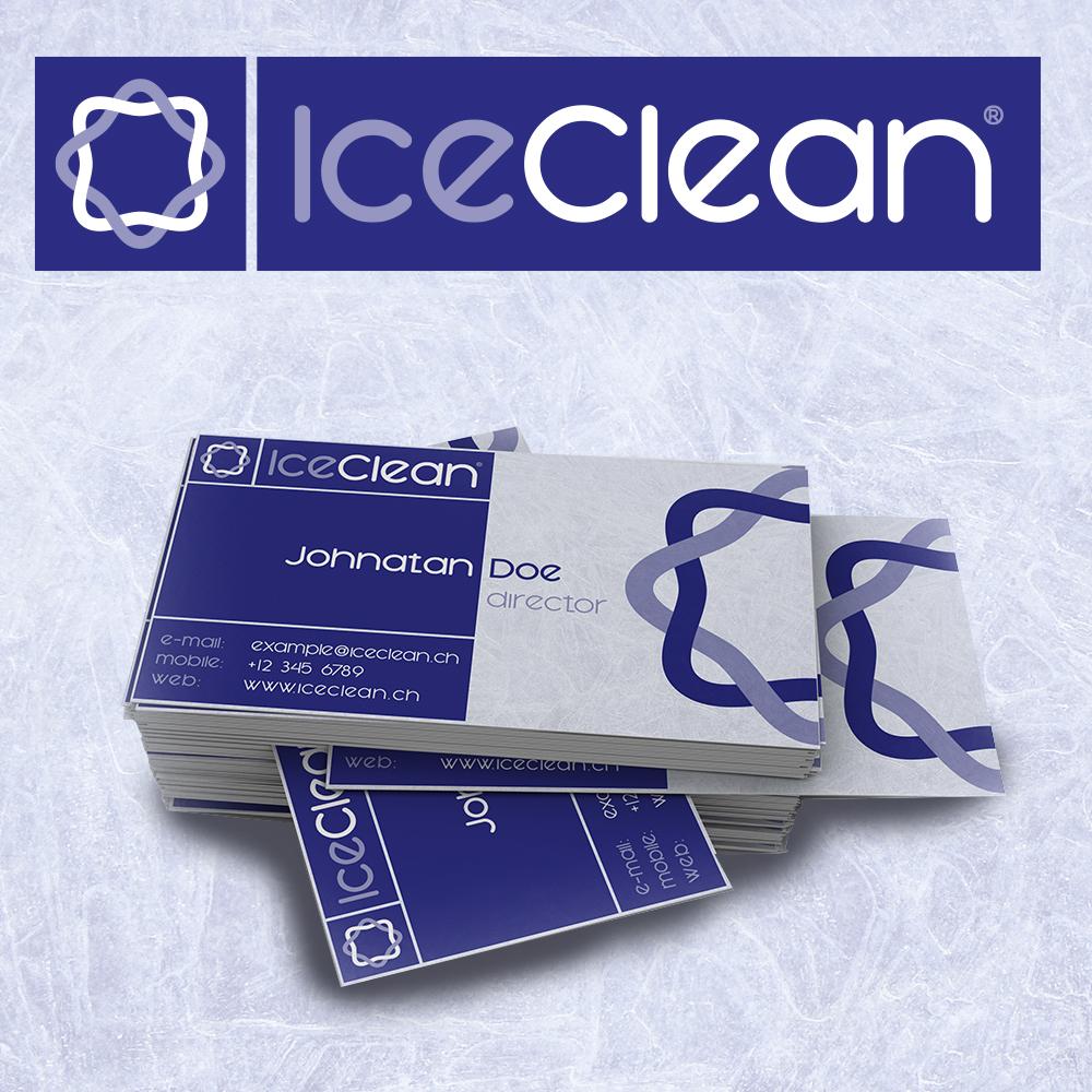 IceClean logóterv