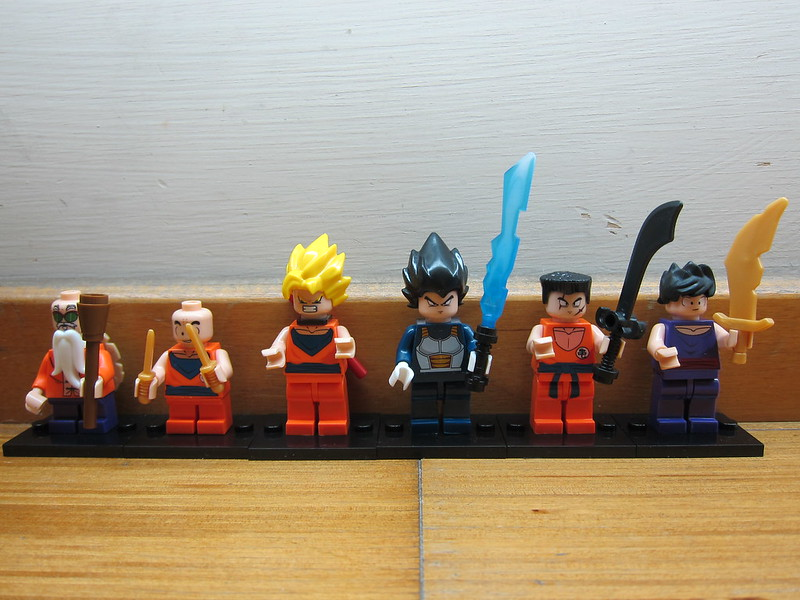 Dragon Ball Z LEGO Compatible Minifigures