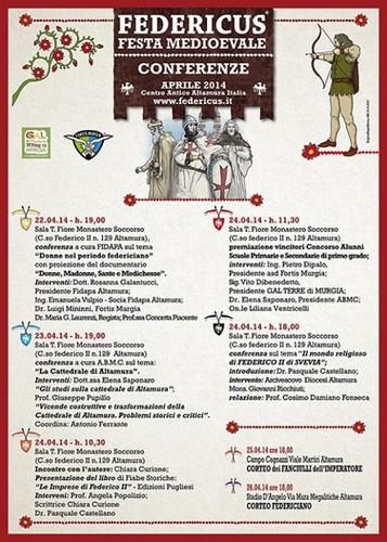 FEDERICUS-2014-PROGRAMMA
