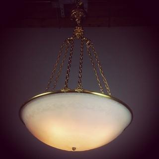 @renewgallery #robertmcnutt #efcaldwell #nyc #newyorkcity #topshelf #best #antiquechandelier #antiquelightfixture #custommade #goldplate #instaalvage #instadesign #instasalvage #instaarchitect #architectural #vancouver