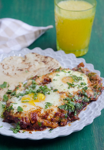 Hatch Chile Huevos Rancheros