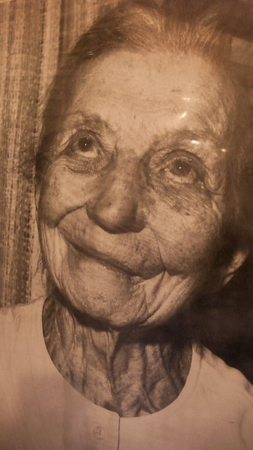 Rika Wallen, photo from display of historic photos at Rika's Roadhouse, Delta Junction, AK