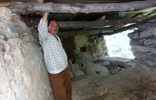 Bhan Singh at his now defunct water mill.