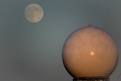 NWS Doppler and Supermoon at 600mm f/8