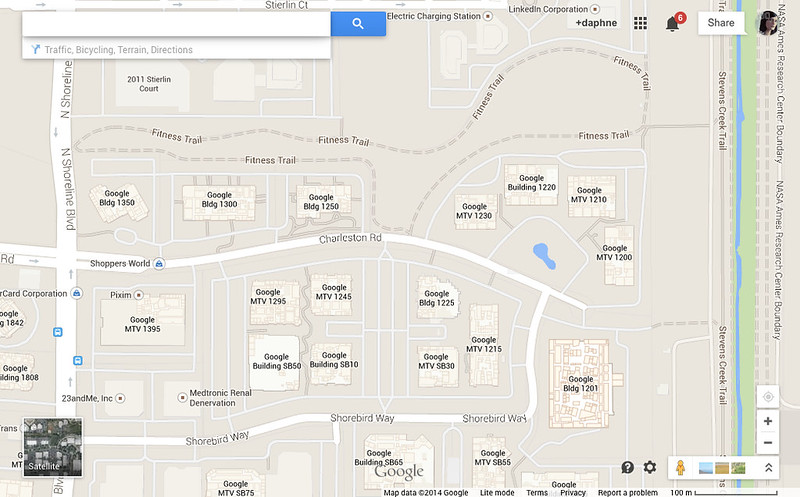 Googleplex Map2