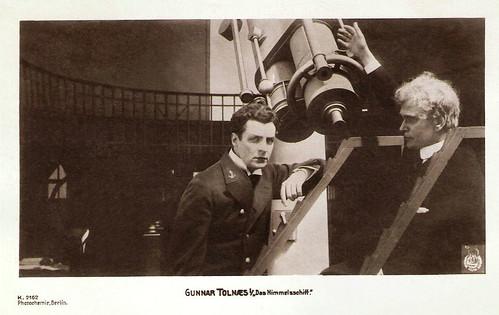 Gunnar Tolnaes, Das Himmelschiff