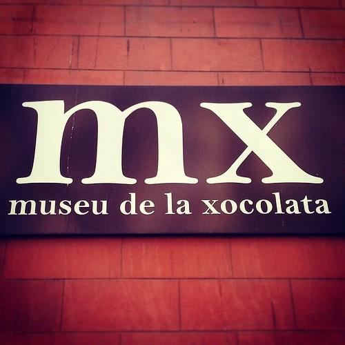 Museu de la Xocolata! Lasciatemi quiiii #xocolata #cioccolata #love #this #museum #barcelona #barcellona #espanya #spagna #beautiful #cook