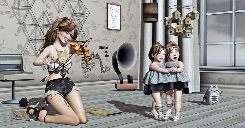 """Amelie et les petites: Episode """"Feel the music"""""""