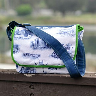 Messenger Bag from Little Things to Sew