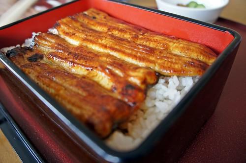 Unagi lunch in Ikebukuro