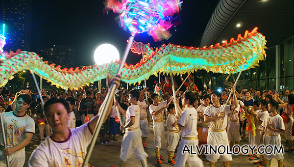 Dragon dance troupe
