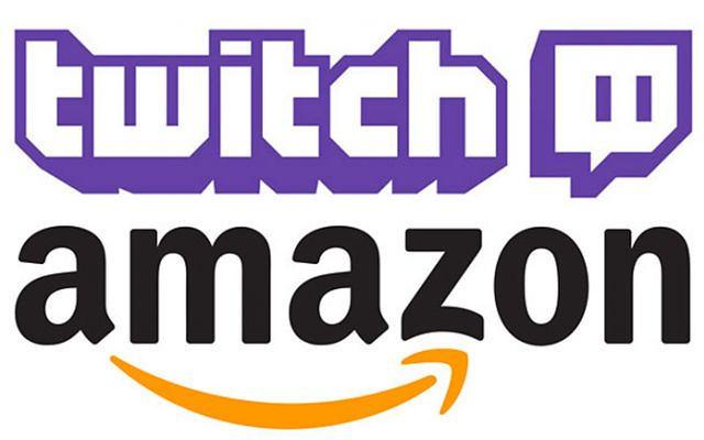 Amazon & Twitch logos
