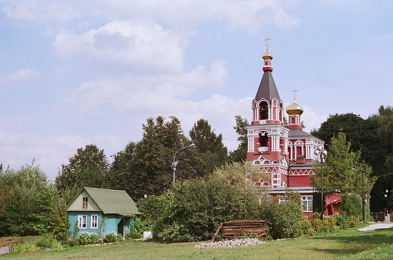 Pyatnitskaya Church in Katchalov. Moscow, Northern Butovo.