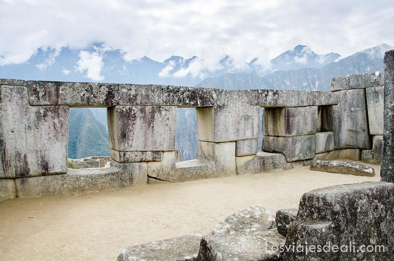 templo de las tres ventanas en Machu Picchu