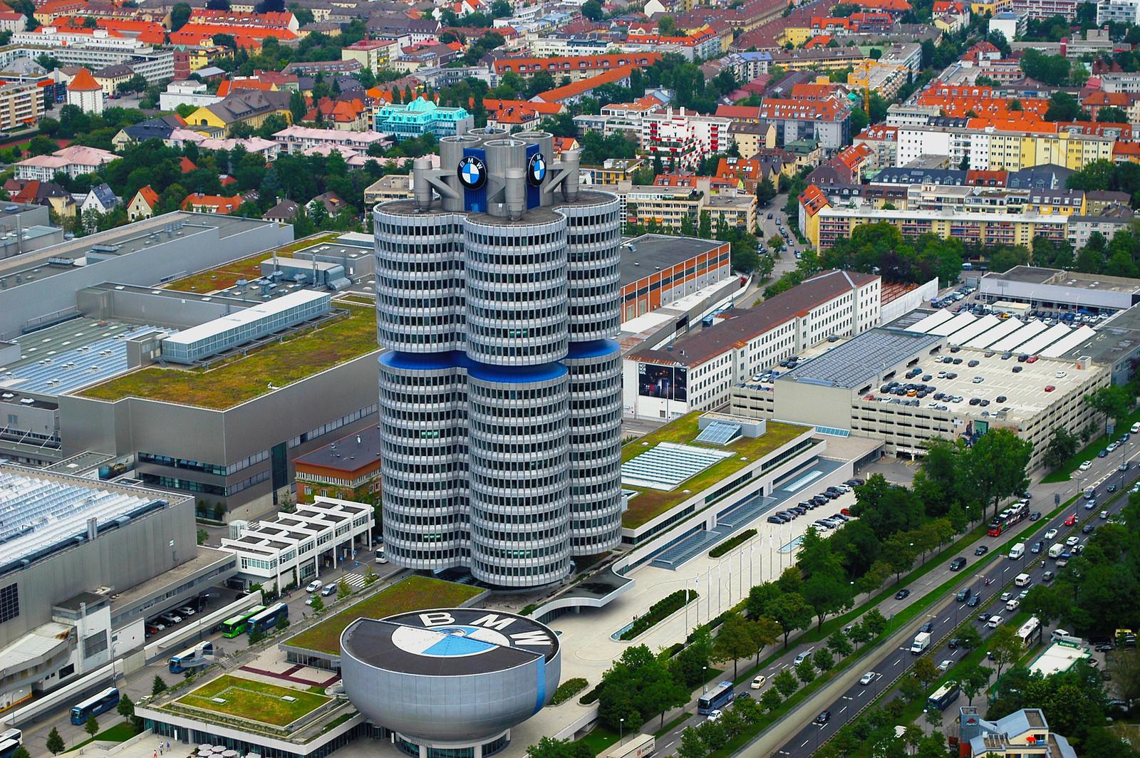 Bmw Headquarters In Munich Rebrn Com