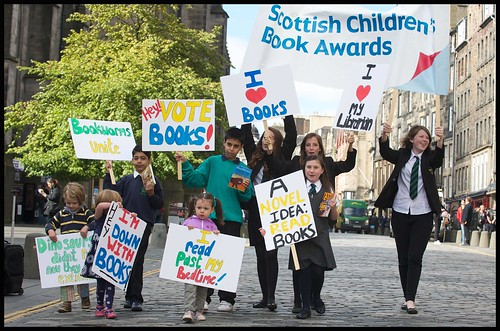 FREE TO USE - SCOTTISH CHILDREN'S BOOK AWARDS SHORTLIST ANNOUNCED