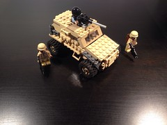 Lego Modded Foxhound