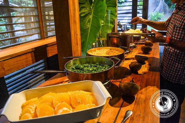 Cristalino Lodge Dinner Buffet