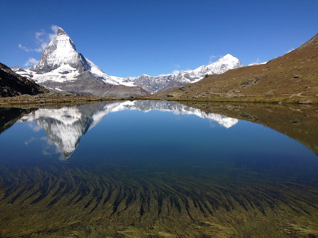 Matterhorn reflection in the Rifflesee