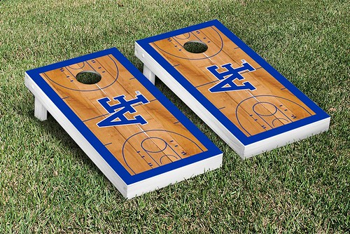 Air Force Academy Falcons Cornhole Game Set Basketball Version Air Force Academy Falcons Cornhole Game Set Stained Strip