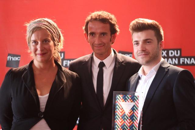 Julie Bonnie, Alexandre Bompard, Benjamin Wood - Prix du Roman Fnac 2014