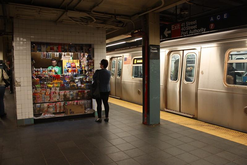 Нью Йоркское метро