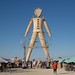 The Man at Burning Man by AGrinberg