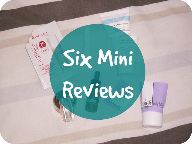 Six Mini Reviews #8