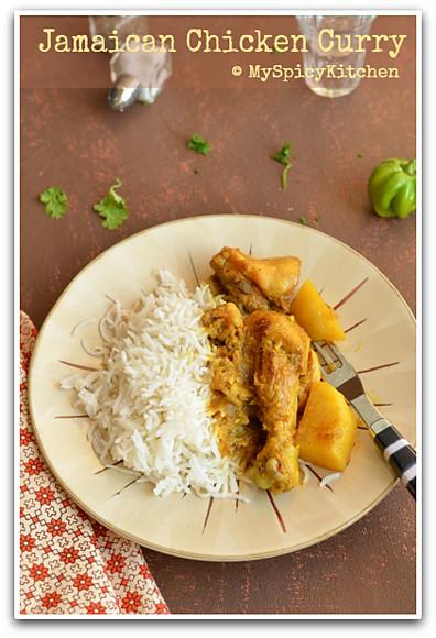 Jamaican Curry, Jamaican Food, Jamaican Cuisine, Caribbean Cuisine, Caribbean Food, Chicken Curry