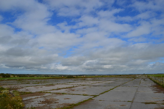 A photo of St David's airfield