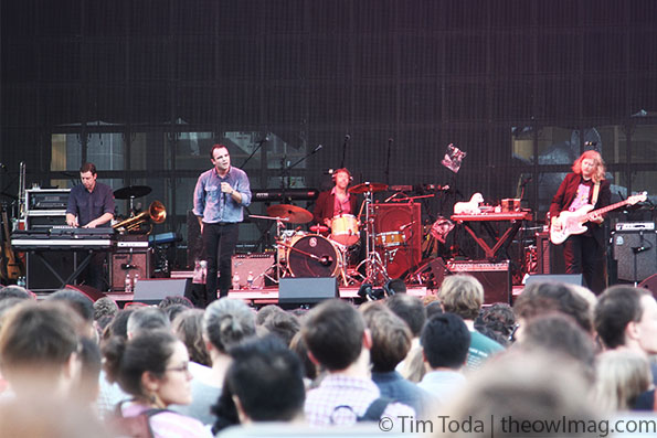 Future Islands @ Boston Calling 2014, Friday