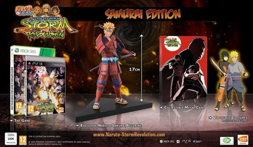 JUAL MURAH - PS3 Naruto Shippuden : Ultimate Ninja Storm Revolution SAMURAI EDITION