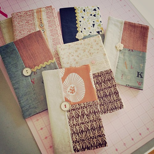 Moleskin journal covers (reusable)